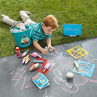 Melissa & Doug® Ice Cream Shop Chalk Set & Bucket