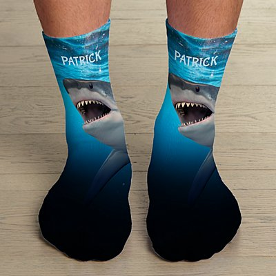 Animal With An Attitude Male Socks