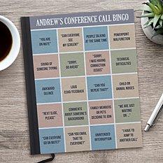Conference Call Bingo Notebook