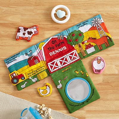 Melissa & Doug® On The Farm Plush Book