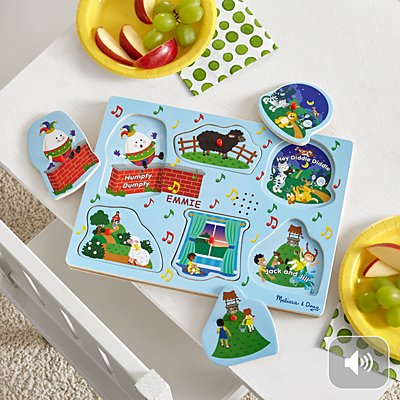 Melissa & Doug® Singing Nursery Rhymes Puzzle