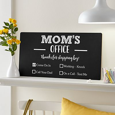 Office Checklist Chalkboard