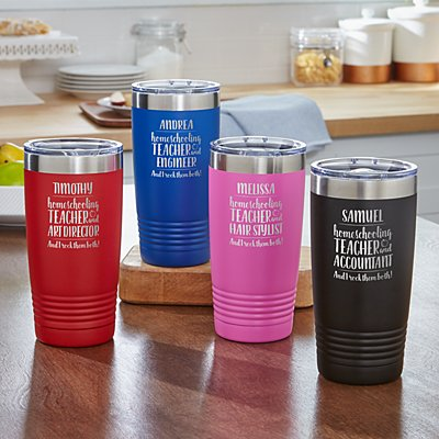 Parent, Teacher, Boss Insulated Tumbler