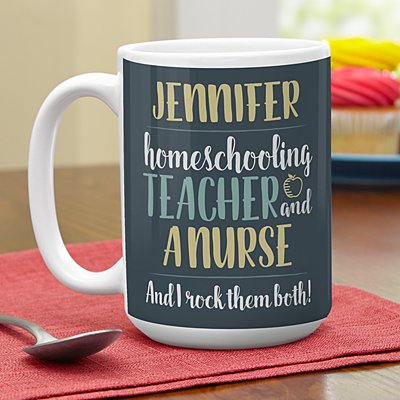 Parent, Teacher, Boss Mug
