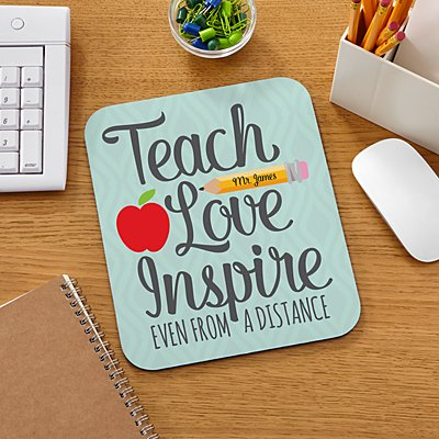 Teacher from a Distance Mouse Pad