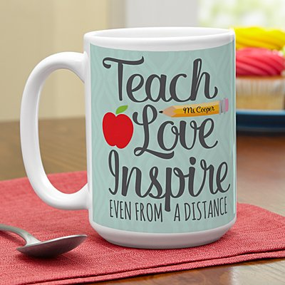 Teacher from a Distance Mug