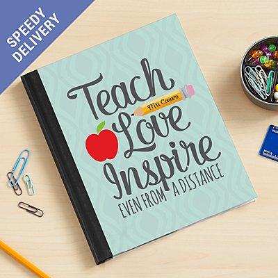 Teacher from a Distance Notebook