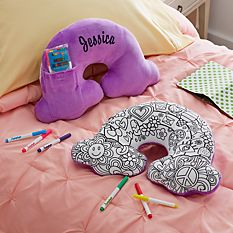 Color Me Rainbow Pillow