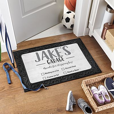 Office Checklist Doormat