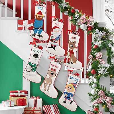 Rudolph® Big Face Character Stocking