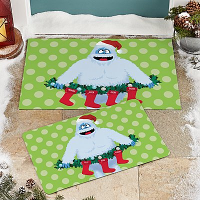 Rudolph® Bumble™ Family Stockings Doormat