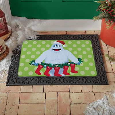 Rudolph® Bumble™ Family Stockings Doormat