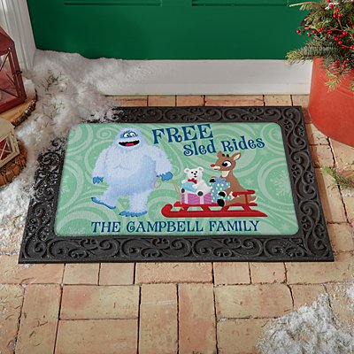 Rudolph® Bumble™ Sled Ride Doormat