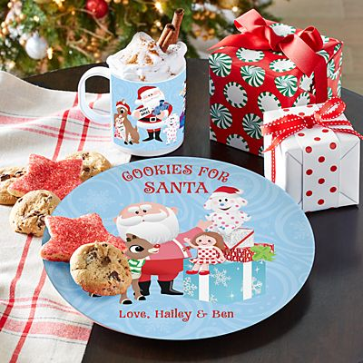 Rudolph® Cookies for Santa Plate & Cup