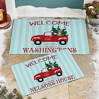 Rudolph® North Pole Delivery Doormat