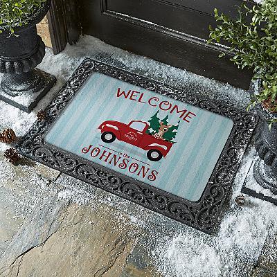 Rudolph® North Pole Delivery Doormat