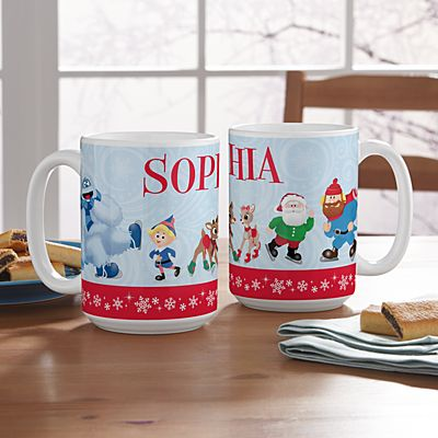 Rudolph® Skating Friends Mug