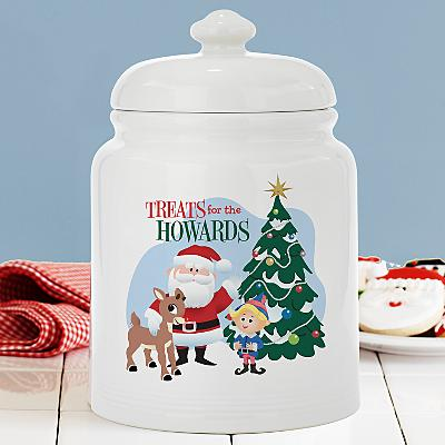 Rudolph® Treats for the Family Cookie Jar
