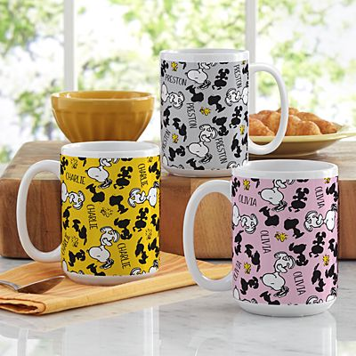 PEANUTS®  All Over Snoopy™ Pattern Mug