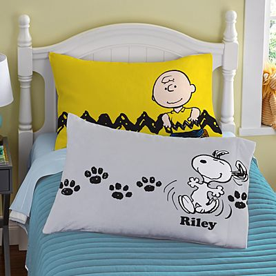 PEANUTS® Character Collection Pillowcase