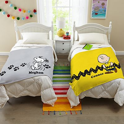 PEANUTS® Character Collection Plush Blanket