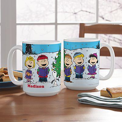 PEANUTS® Christmas Caroling Mug