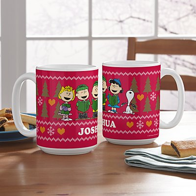 PEANUTS® Christmas Sweater Mug