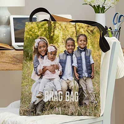 Any Message Photo Tote