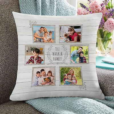 Family is Everything Photo Cushion