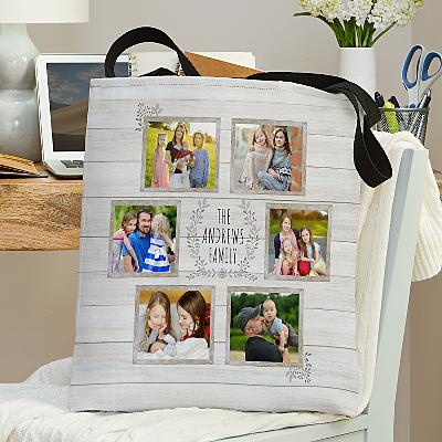 Family is Everything Photo Tote Bag