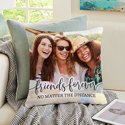 Friends Forever Photo Pillow