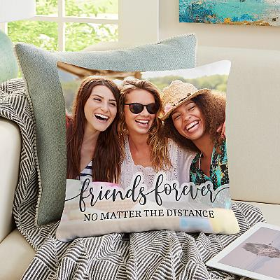 Friends Forever Photo Cushion