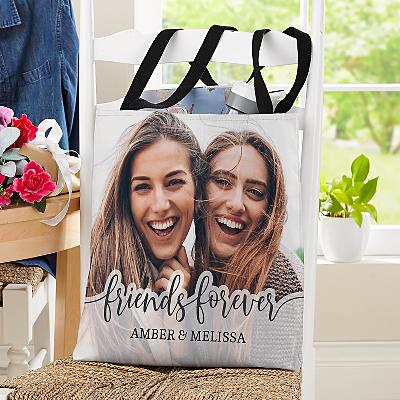 Friends Forever Photo Tote Bag