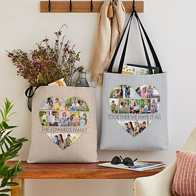Have My Heart Photo Tote