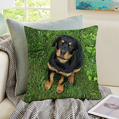 My Furry Friend Pet Photo Pillow