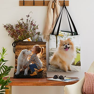 My Furry Friend Pet Photo Tote