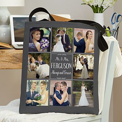 Our Best Day Ever Wedding Photo Tote