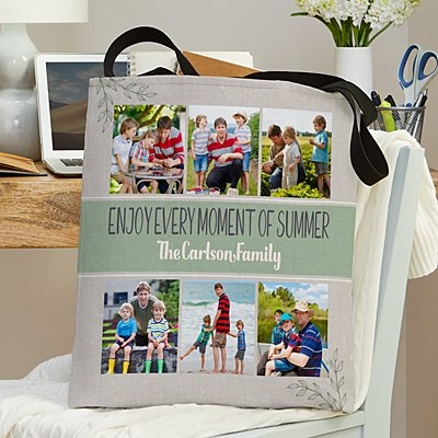 Our Family Vacation Photo Tote