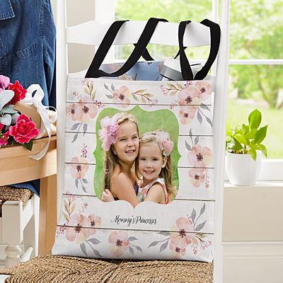 Our Little Blessing Photo Tote