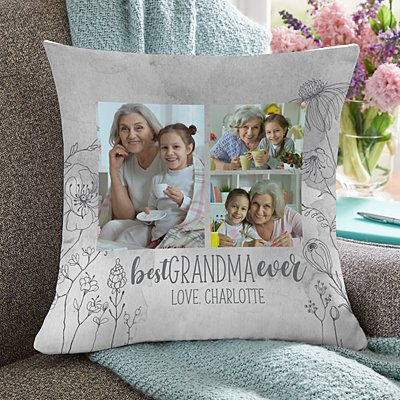 The Best Ever Photo Cushion