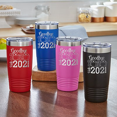 Goodbye 2020, Hello 2021 Insulated Tumbler