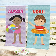 Just For Me Beach Towel