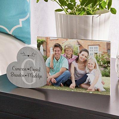 Loveable Family Heart Frame
