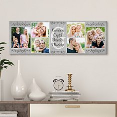 Loveable Family Photo Canvas