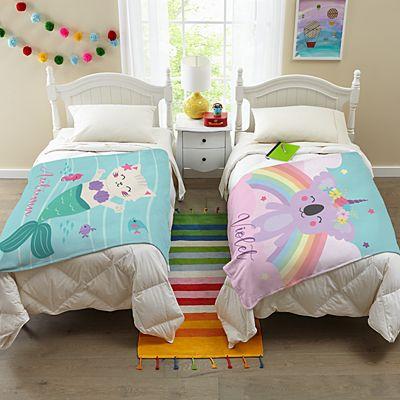 Magical Friends Plush Blanket