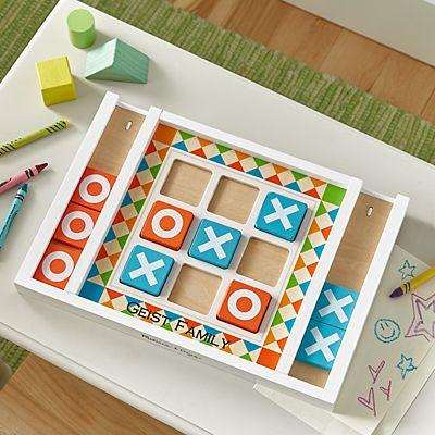 Melissa & Doug® Wooden Tic Tac Toe Set