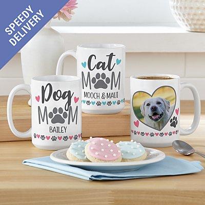 Pet Mum Photo Mug