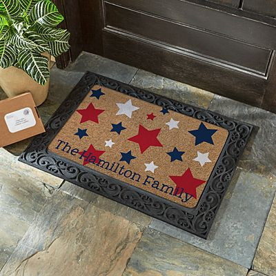 Red, White & Blue Doormat