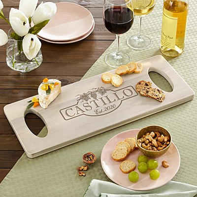 Rustic Vineyard Banquet Board