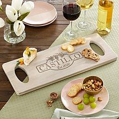 Rustic Vineyard Banquet Board